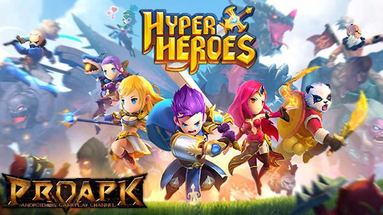 HYPER HEROES MARBLE-LIKE RPG