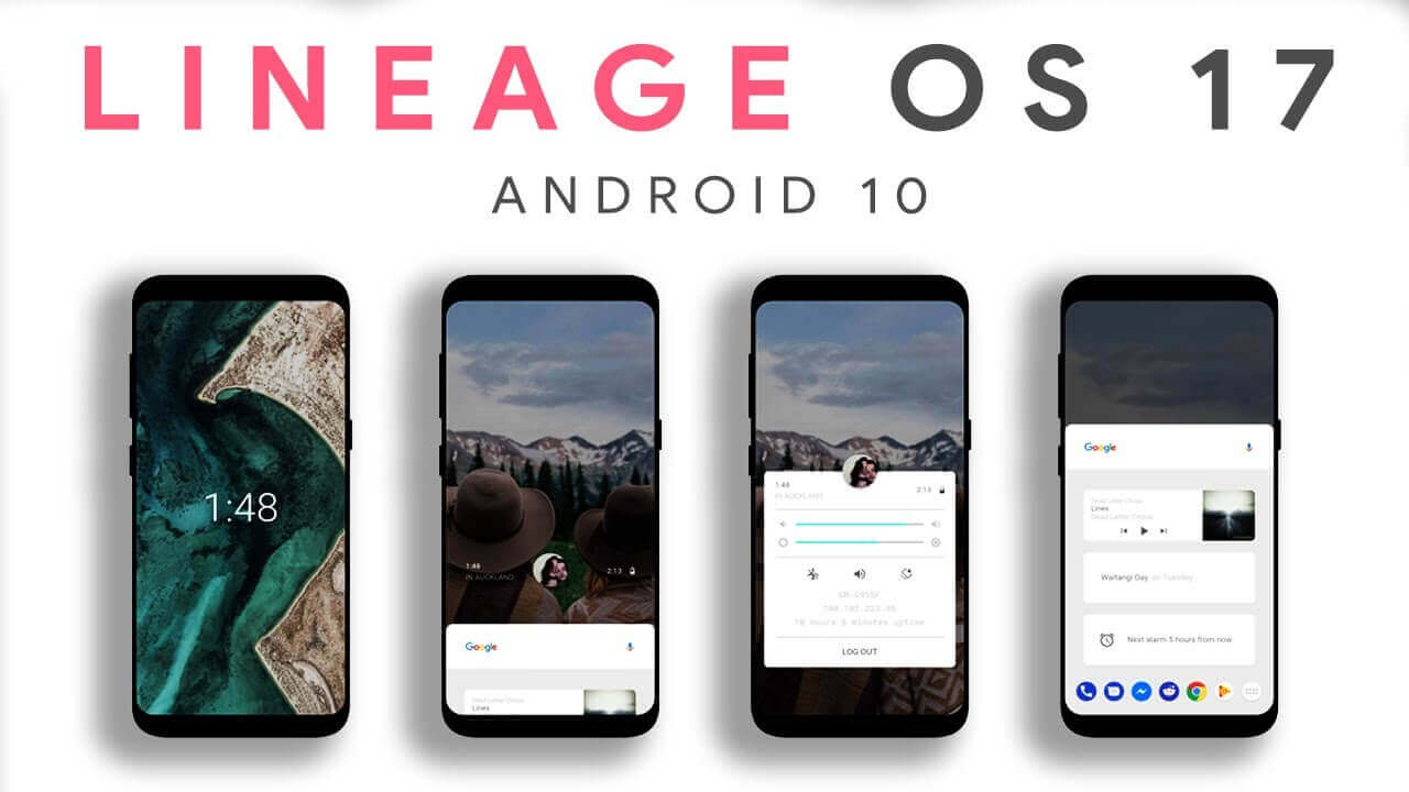 LineageOS 17.1 ROM (Android 10)