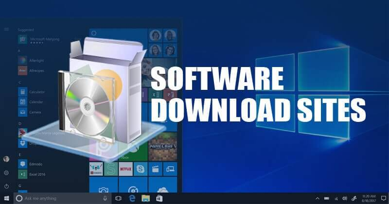 best software download site for Windows 10