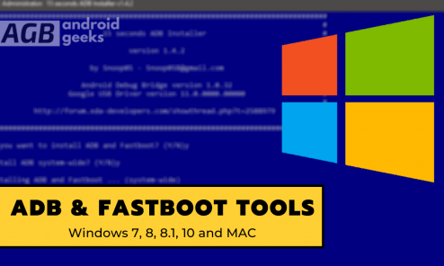 Download and Install ADB and Fastboot on Windows