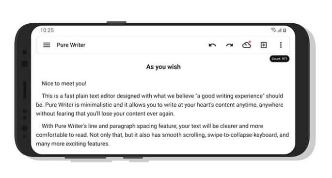Top 7 Best Writing Apps for Android in 2020 3