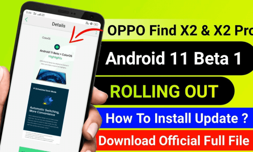 Android 11 beta for Oppo