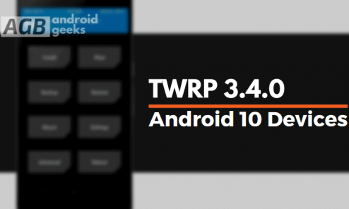 Download TWRP 3.4.0 For Legacy Devices