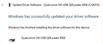 Download Qualcomm HS-USB QDloader 9008 Driver for Windows – 32/64-bit 6
