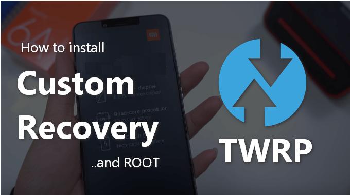 TWRP recovery on Xiaomi Mi