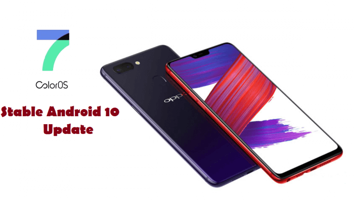 Android 10 for OPPO R