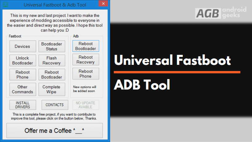 Universal Fastboot and ADB Tool