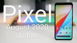 Google pixel august 2020 security update