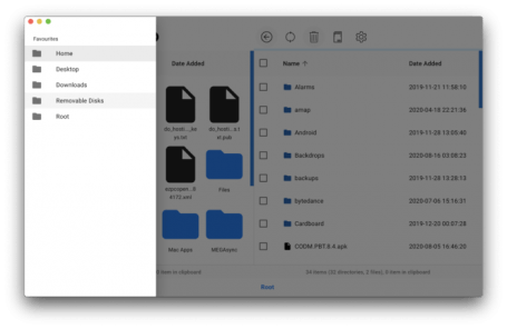 OpenMTP   Android Files Transfer for Mac 1