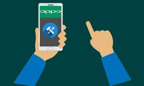 Remove demo mode and unlock pattern lock on Oppo 2020