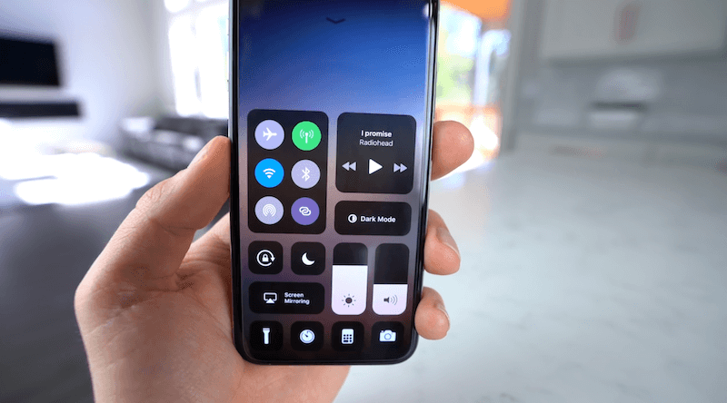 Get iOS control center on Android devices