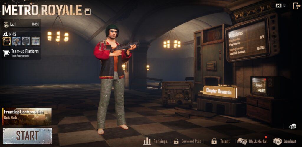 Download PUBG Mobile 1.1 APK for Android | Metro Royale 1