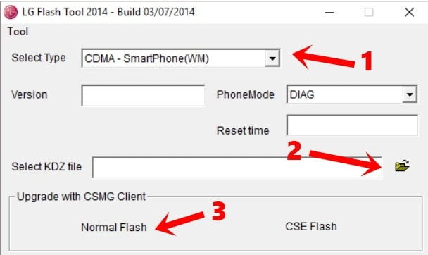 How to Flash Firmware on LG Phones Using LG Flash Tool 1