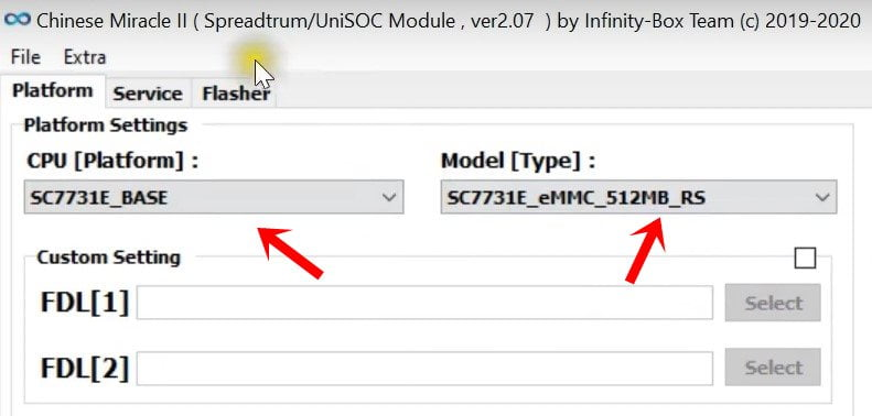 How to Flash Spreadtrum Unisoc Firmware Using Infinity CM2SP2 1