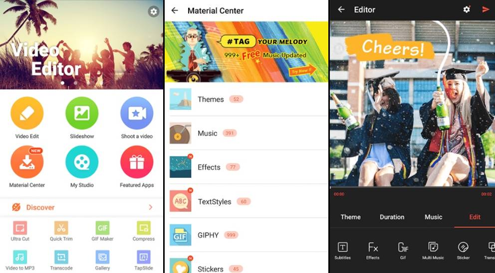 11 Free and Best Android Video Editor Apps For 2020 2