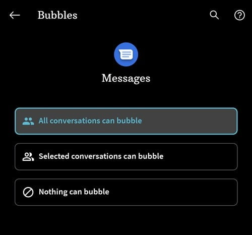 How to Fix Android 11 Chat Bubbles Not Working Issue 3