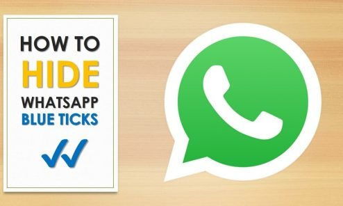 Whatsapps read receipt feature disable