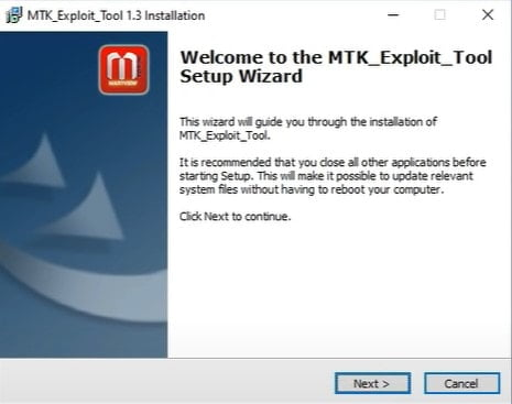 Download Latest MTK Exploit Tool for Windows PC 2