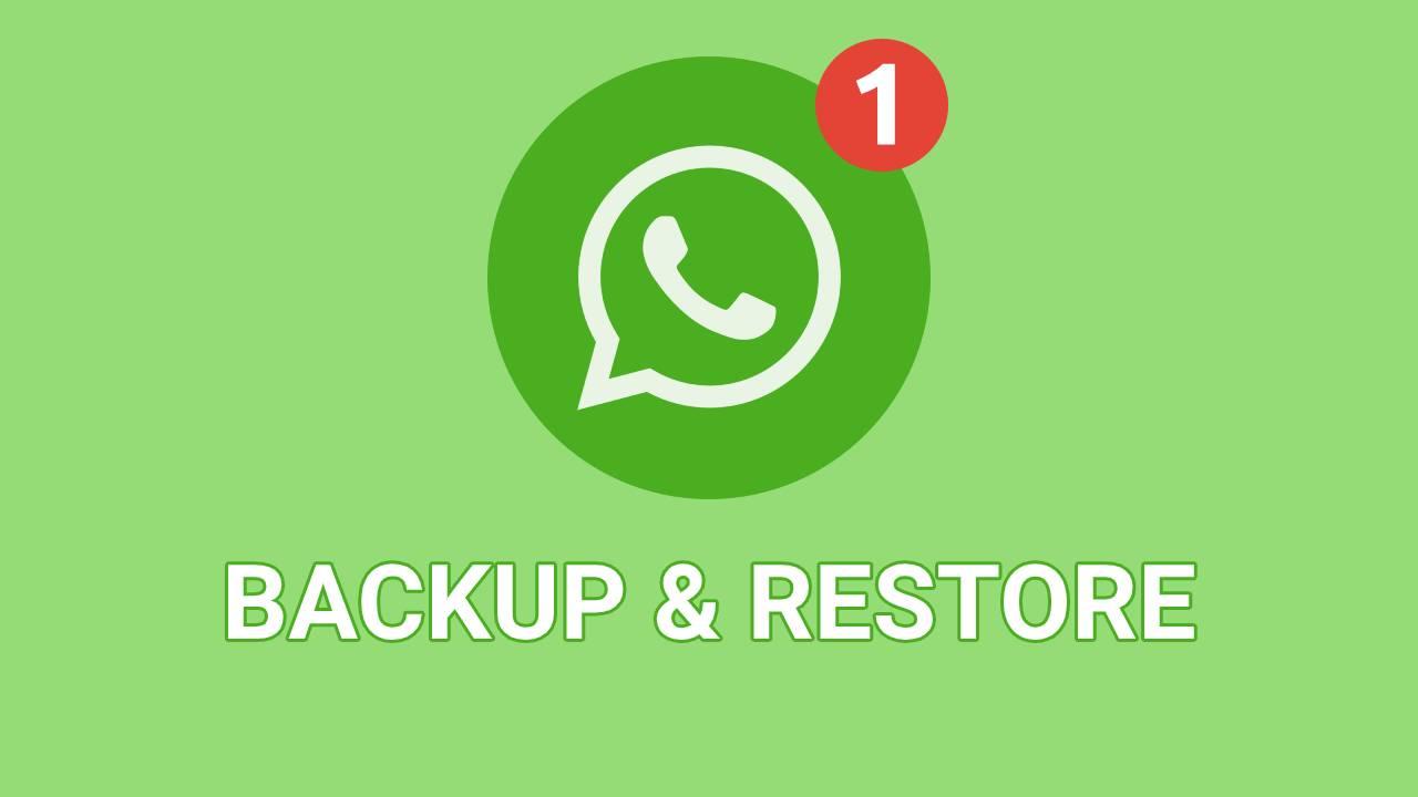 WhatsApp backup take long to restore