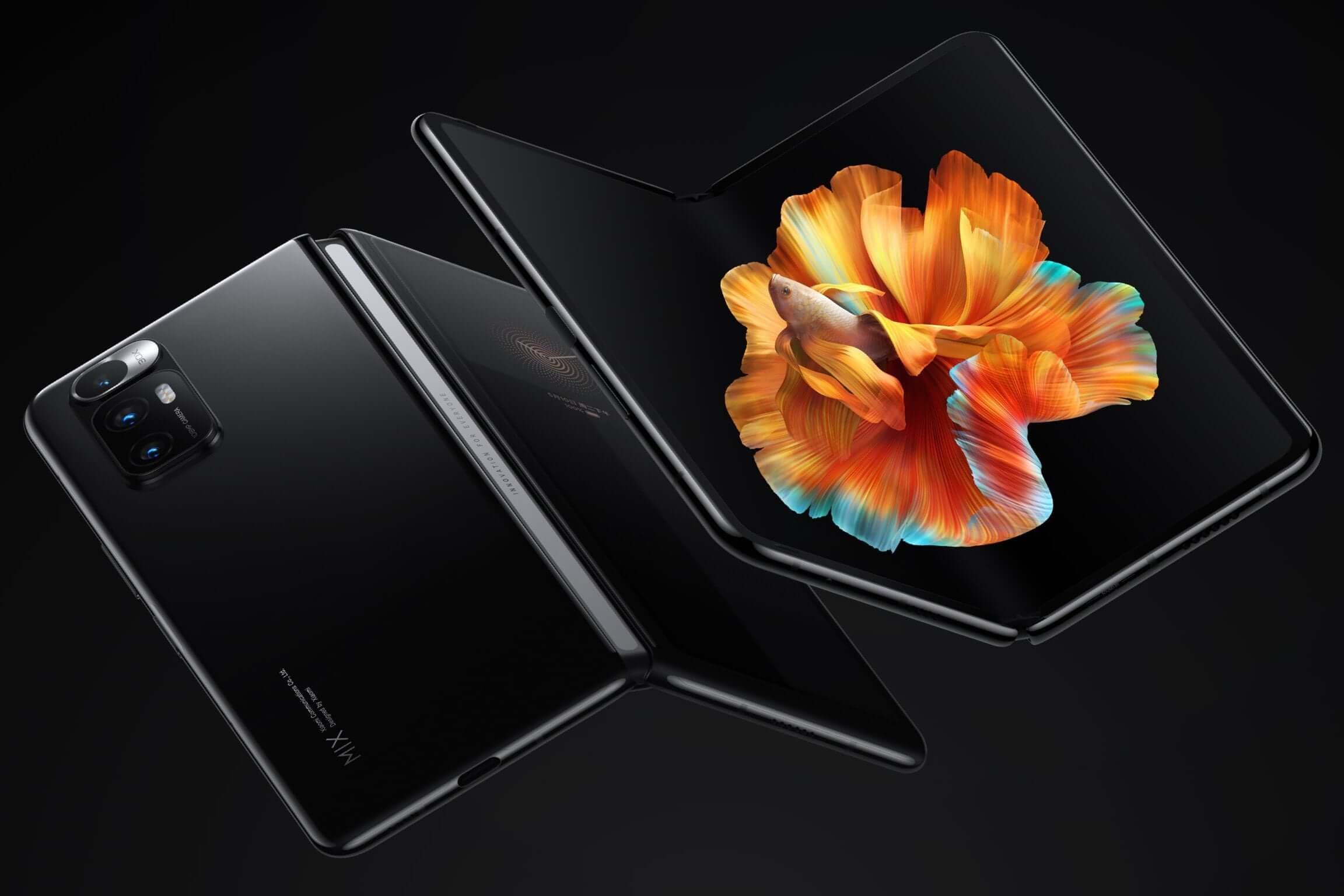 Xiaomi Mi Mix fold waterproof tests