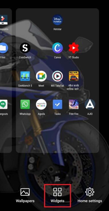 Fix Google Search Bar Widget Missing on Android Phone 1