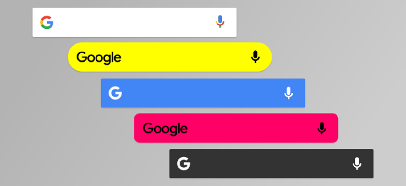 Google Search bar missing on Android