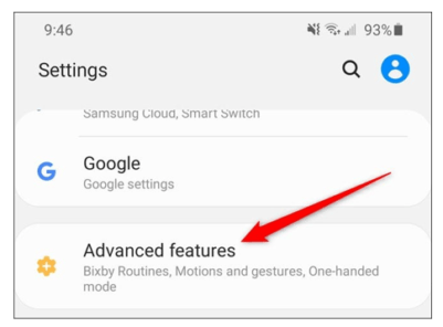 How to Change the Function of Side Button in Samsung Galaxy S20 1