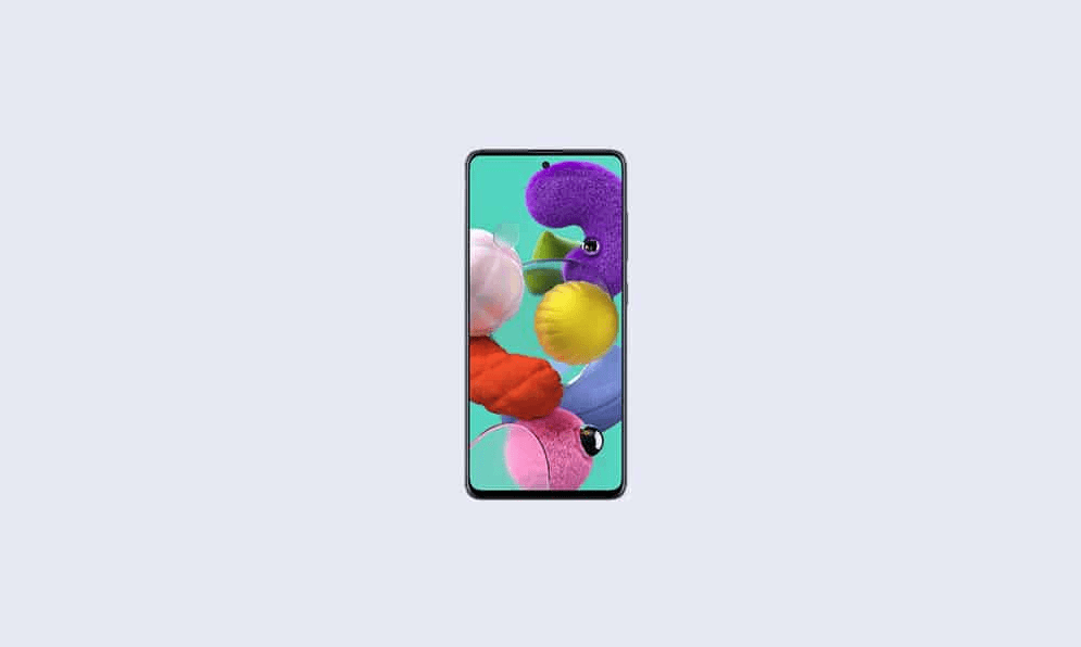 July 2021 security patch update for Galaxy A51