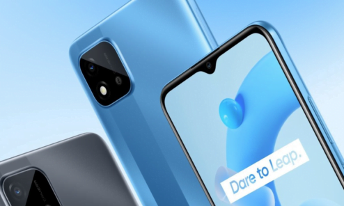 Realme C11 2021 stock wallpapers